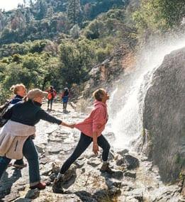 Spring Waterfalls in Hetch Hetchy